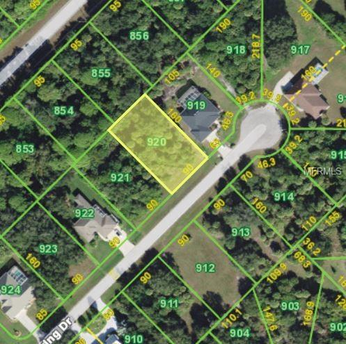 250 Spring Drive, Rotonda West, FL 33947 (MLS #D6103996) :: RE/MAX Realtec Group