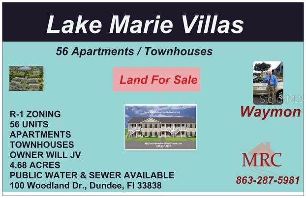 Lake Marie Drive, Dundee, FL 33838 (MLS #K4900731) :: Keller Williams on the Water/Sarasota