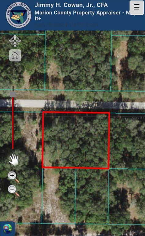 SW 108TH Street, Dunnellon, FL 34432 (MLS #OM619776) :: Rabell Realty Group