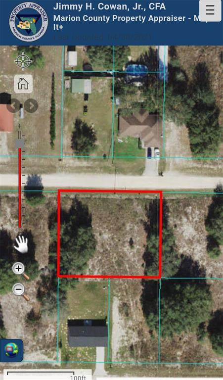 SW 107TH Place, Dunnellon, FL 34432 (MLS #OM619778) :: Armel Real Estate