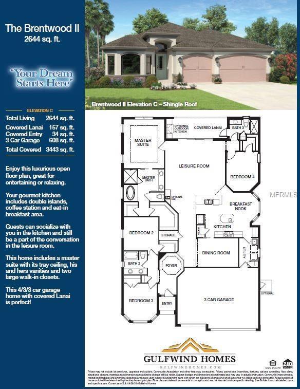 981 Bee Branch Court, Palm Harbor, FL 34683 (MLS #U8042989) :: Delgado Home Team at Keller Williams