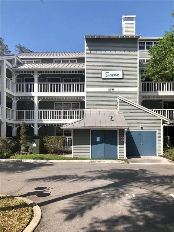 2511 Dolly Bay Drive #105, Palm Harbor, FL 34684 (MLS #U8078744) :: Keller Williams Realty Peace River Partners