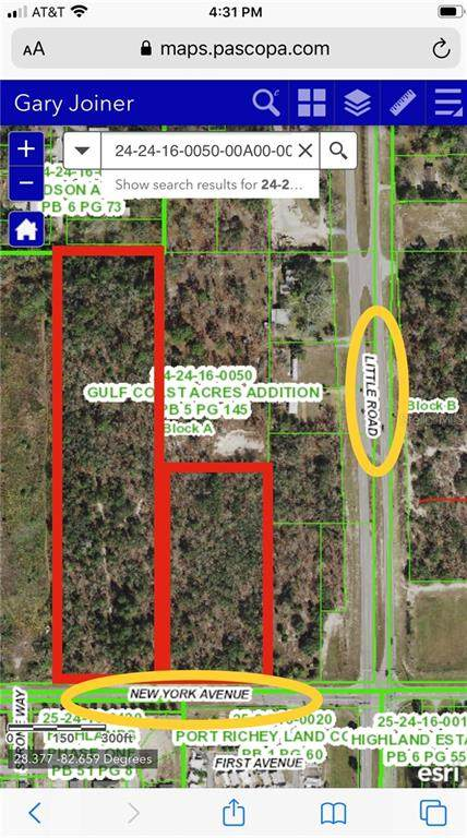 00 W New York Avenue W, Hudson, FL 34667 (MLS #W7829301) :: Southern Associates Realty LLC