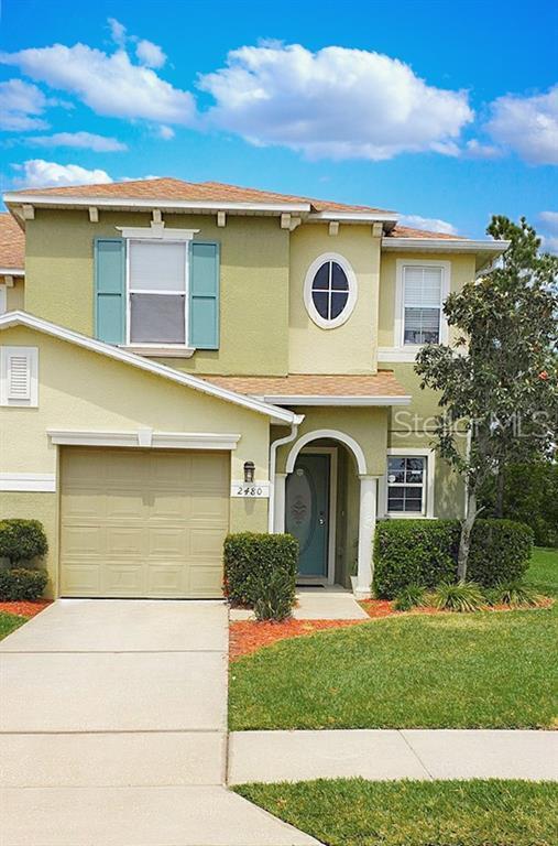 2480 Hassonite Street, Kissimmee, FL 34744 (MLS #S5018489) :: The Duncan Duo Team