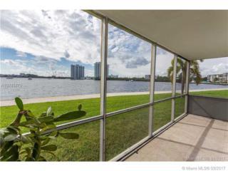 2920 Point East Dr N106, Aventura, FL 33160 (MLS #A10245870) :: Green Realty Properties