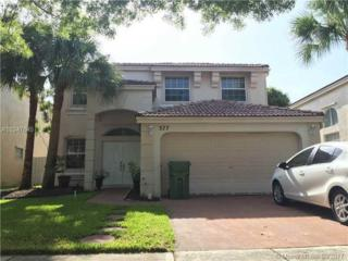 377 NW 159  Ave, Pembroke Pines, FL 33028 (MLS #A10247645) :: Green Realty Properties