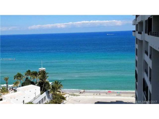 3505 S Ocean Dr #707, Hollywood, FL 33019 (MLS #A10228612) :: The Teri Arbogast Team at Keller Williams Partners SW