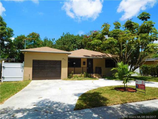 821 NE 144th St, North Miami, FL 33161 (MLS #A10312159) :: Green Realty Properties