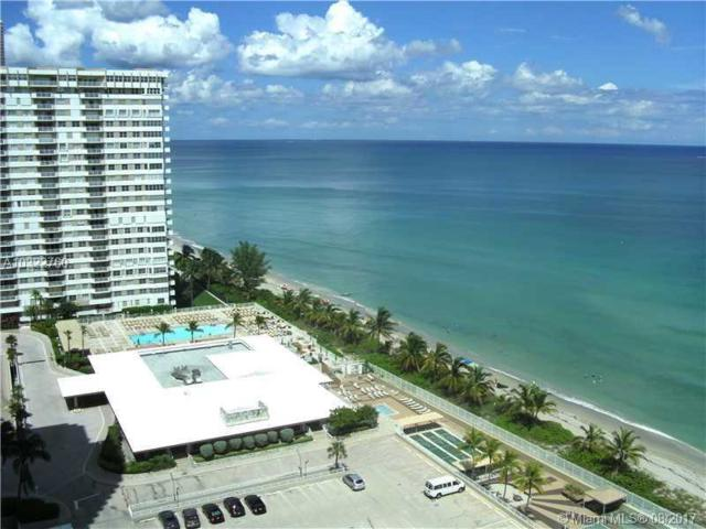 2030 S Ocean Dr #1822, Hallandale, FL 33009 (MLS #A10322760) :: RE/MAX Presidential Real Estate Group