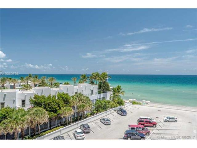 3505 S Ocean Dr #509, Hollywood, FL 33019 (MLS #A10330758) :: The Riley Smith Group
