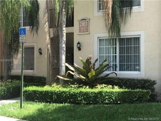 2103 Renaissance Blvd #305, Miramar, FL 33025 (MLS #A10331219) :: The Chenore Real Estate Group