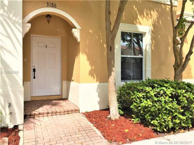 3186 SW 129th Ter #113, Miramar, FL 33027 (MLS #A10338585) :: Green Realty Properties