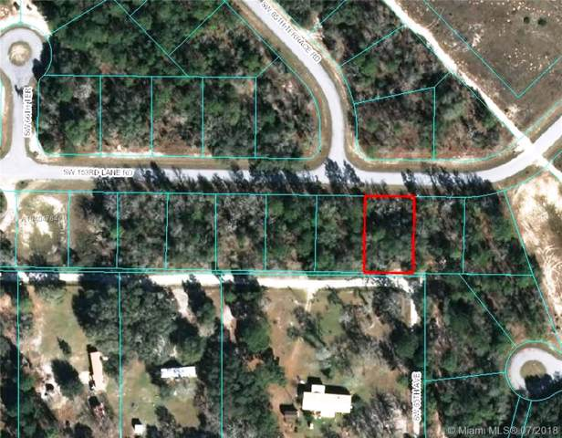 0 SW 153rd Ln Rd, Other City - In The State Of Florida, FL 34473 (MLS #A10404764) :: Grove Properties