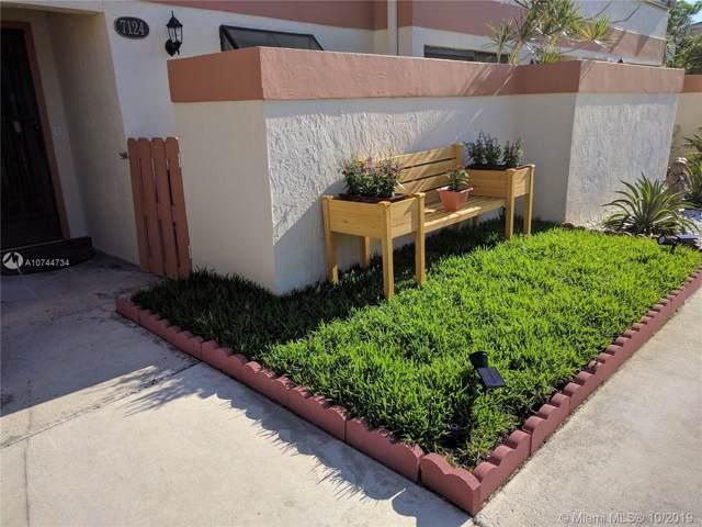 7124 SW 42nd Pl #1604, Davie, FL 33314 (MLS #A10744734) :: Green Realty Properties