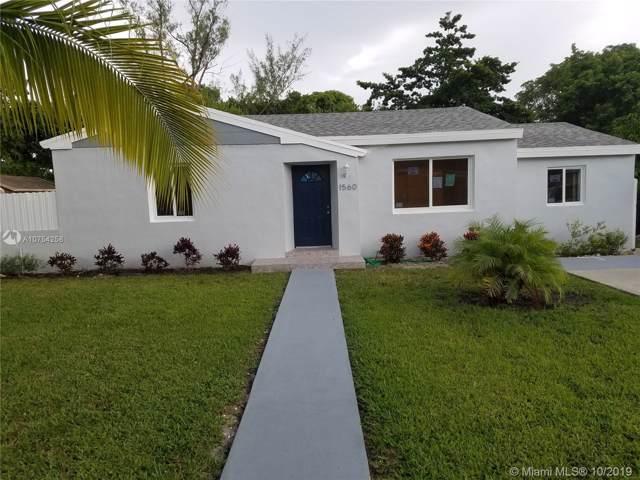 1560 NE 140th St, North Miami, FL 33161 (MLS #A10754258) :: The Jack Coden Group