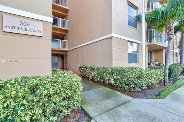 509 E Sheridan St #2043, Dania Beach, FL 33004 (MLS #A10754316) :: Prestige Realty Group