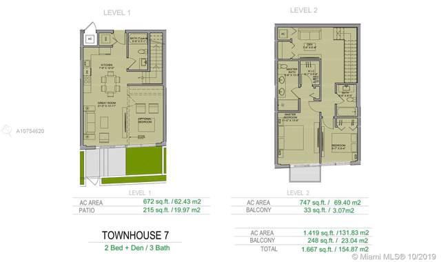 1600 SW 1st Avenue Th-7, Miami, FL 33129 (MLS #A10754620) :: Team Citron