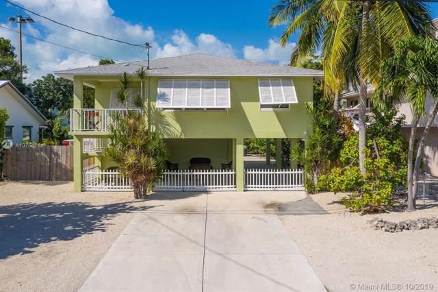 153 Plantation Shores Dr, Other City - Keys/Islands/Caribbean, FL 33070 (MLS #A10754714) :: The Teri Arbogast Team at Keller Williams Partners SW