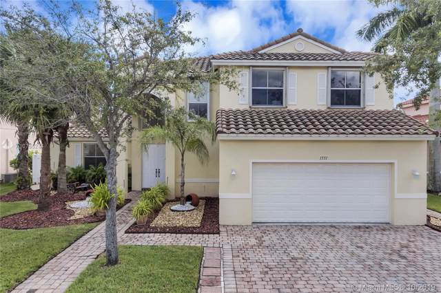 1551 SW 191st Ter, Pembroke Pines, FL 33029 (MLS #A10755274) :: RE/MAX Presidential Real Estate Group