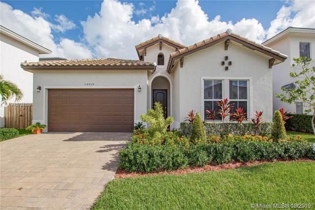 14919 SW 176th St, Miami, FL 33187 (MLS #A10755343) :: Grove Properties