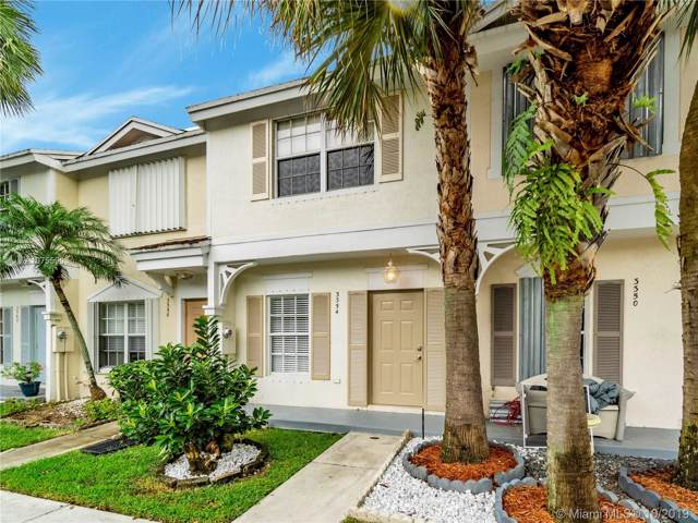 3354 Concert Ln #118, Margate, FL 33063 (MLS #A10755903) :: Grove Properties
