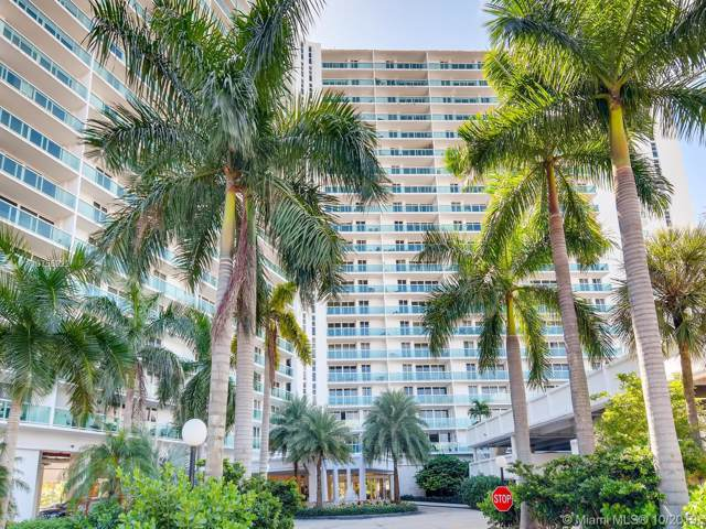 100 Bayview Dr #401, Sunny Isles Beach, FL 33160 (MLS #A10755922) :: Albert Garcia Team