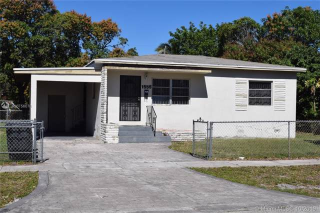 1555 NW 124th St, North Miami, FL 33167 (MLS #A10756070) :: RE/MAX Presidential Real Estate Group