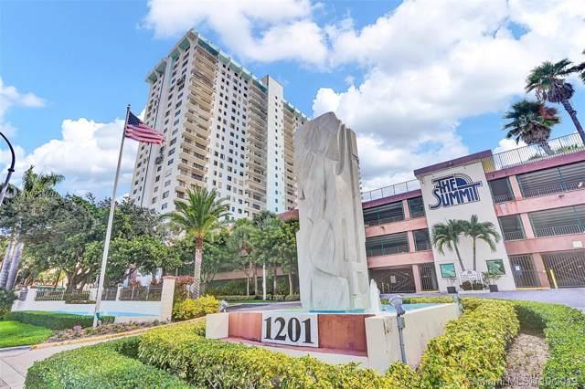 1201 S Ocean Dr 1607N, Hollywood, FL 33019 (MLS #A10756607) :: Green Realty Properties