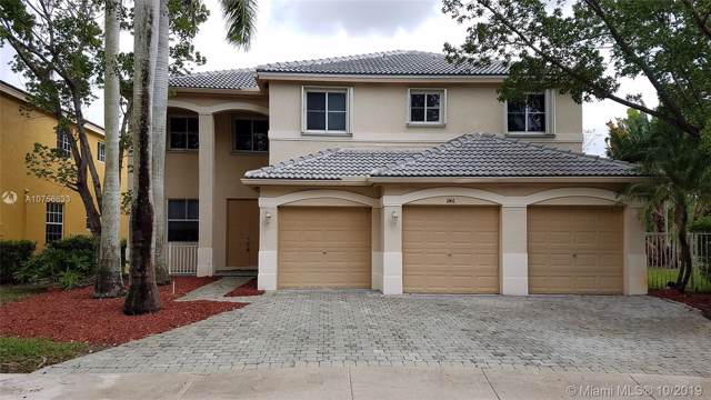 1146 Lavender Cir, Weston, FL 33327 (MLS #A10756633) :: Green Realty Properties