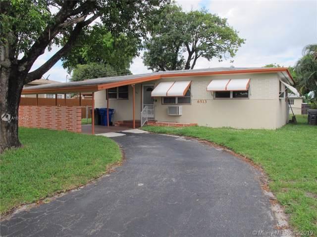 6513 Fletcher St, Hollywood, FL 33023 (MLS #A10756721) :: Green Realty Properties