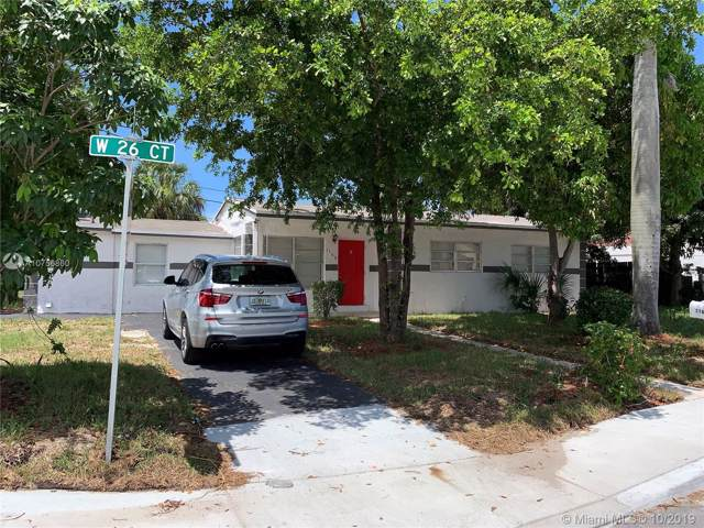 1160 W 26th Ct, Riviera Beach, FL 33404 (MLS #A10756860) :: Green Realty Properties