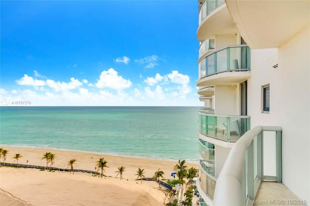 18683 Collins Ave #1407, Sunny Isles Beach, FL 33160 (MLS #A10757270) :: United Realty Group