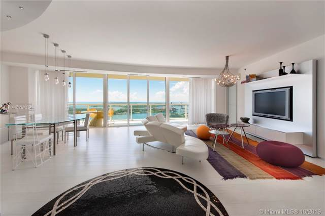 450 Alton Rd #3401, Miami Beach, FL 33139 (MLS #A10757354) :: Miami Villa Group