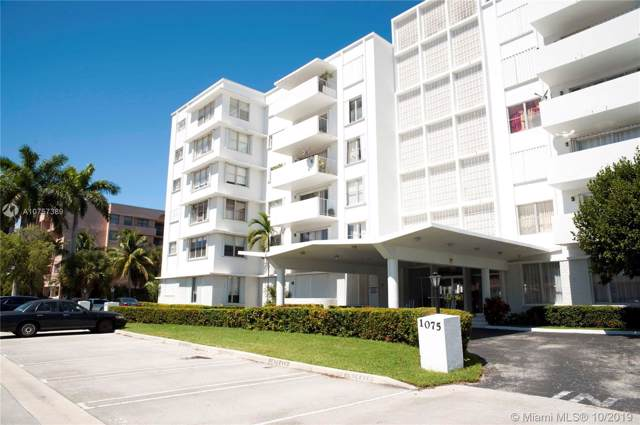 1075 92nd St #603, Bay Harbor Islands, FL 33154 (MLS #A10757389) :: Lucido Global