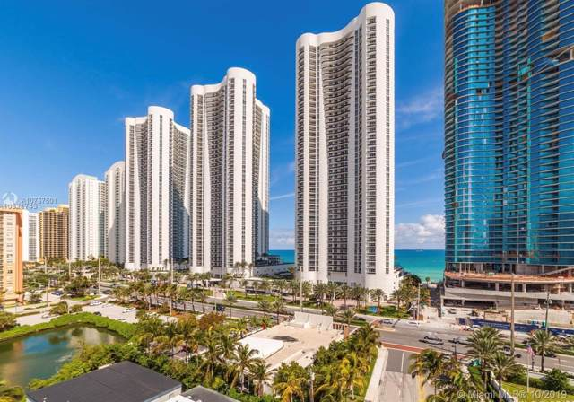 100 Bayview Dr #1420, Sunny Isles Beach, FL 33160 (MLS #A10757501) :: Grove Properties