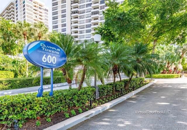 600 Three Islands Blvd #1504, Hallandale, FL 33009 (MLS #A10757634) :: Grove Properties