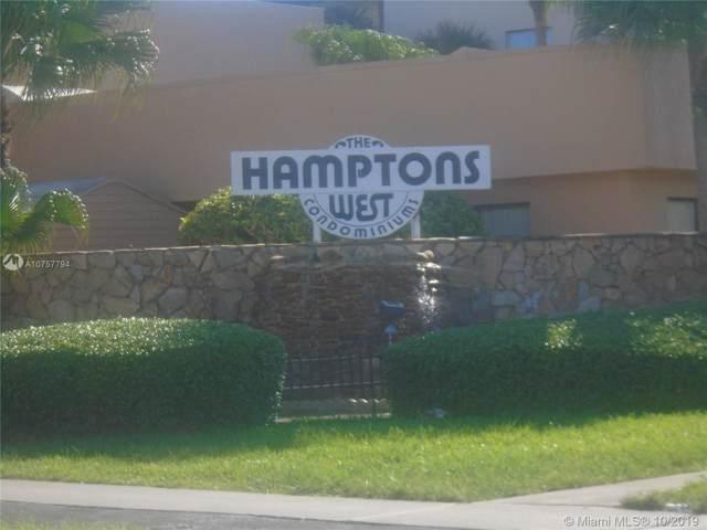 8020 Hampton Boulevard #309, North Lauderdale, FL 33068 (MLS #A10757794) :: The Adrian Foley Group