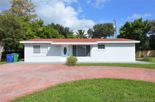 2011 SW 97th Ave, Miramar, FL 33025 (MLS #A10757807) :: Laurie Finkelstein Reader Team