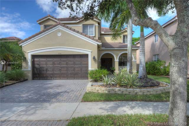 636 Bald Cypress Rd, Weston, FL 33327 (MLS #A10757916) :: The Erice Group