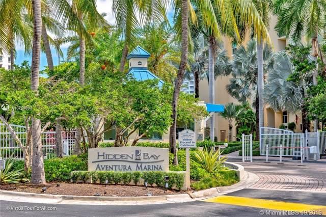3370 E Hidden Bay Dr #1202, Aventura, FL 33180 (MLS #A10757933) :: Grove Properties