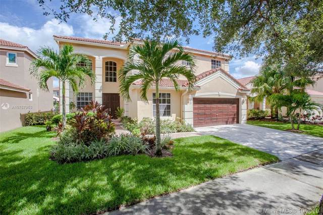 4117 Cinnamon Way, Weston, FL 33331 (MLS #A10757953) :: United Realty Group