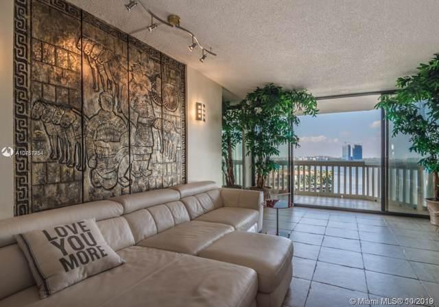 1000 W Island Blvd #712, Aventura, FL 33160 (MLS #A10757954) :: Grove Properties