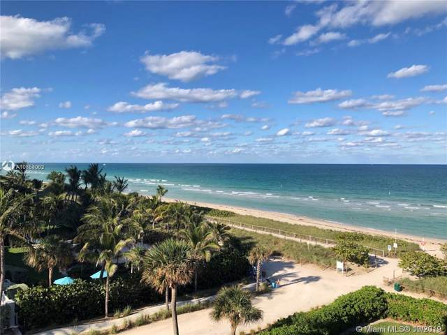 8777 Collins Ave #202, Surfside, FL 33154 (MLS #A10758062) :: The Jack Coden Group