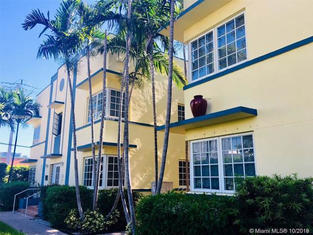600 Euclid Ave 1B, Miami Beach, FL 33139 (MLS #A10758258) :: Lucido Global