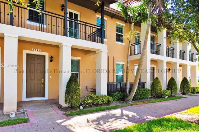 1521 SW 147th Ave #1521, Pembroke Pines, FL 33027 (MLS #A10758383) :: Berkshire Hathaway HomeServices EWM Realty