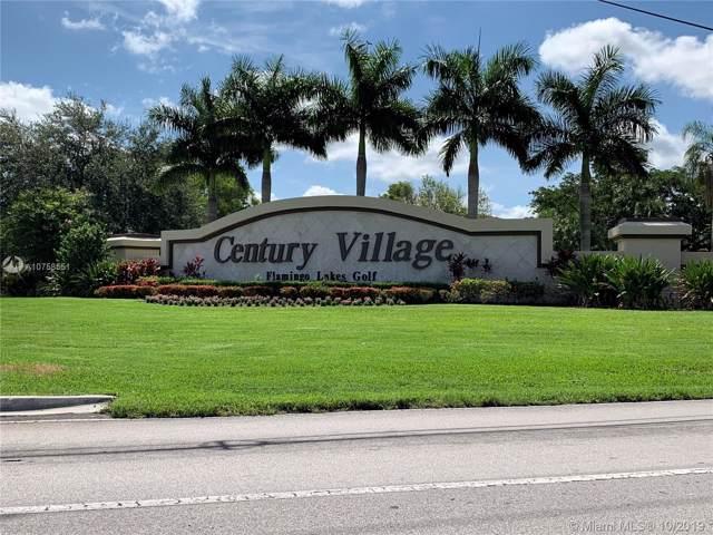 1401 SW 128th Ter 307H, Pembroke Pines, FL 33027 (MLS #A10758551) :: Patty Accorto Team