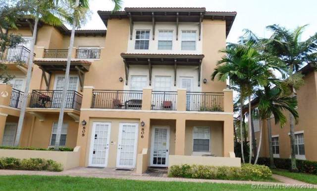 804 SW 147th Ave #3609, Pembroke Pines, FL 33027 (MLS #A10758651) :: United Realty Group