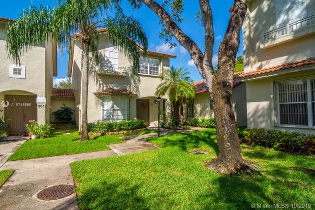 508 NW 108th Ter #508, Pembroke Pines, FL 33026 (MLS #A10758658) :: United Realty Group