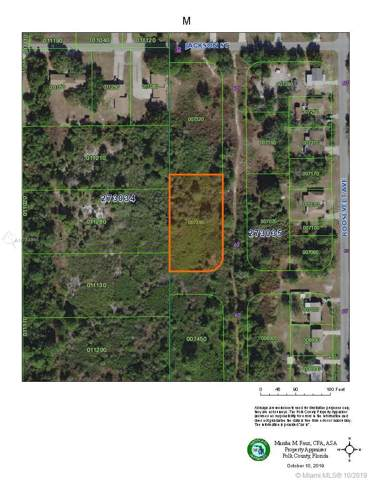 0 Roosevelt Ave, Other City - In The State Of Florida, FL 33859 (MLS #A10758996) :: Grove Properties