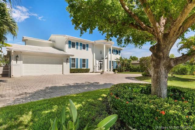436 Poinciana Dr, Hallandale, FL 33009 (MLS #A10759072) :: Grove Properties